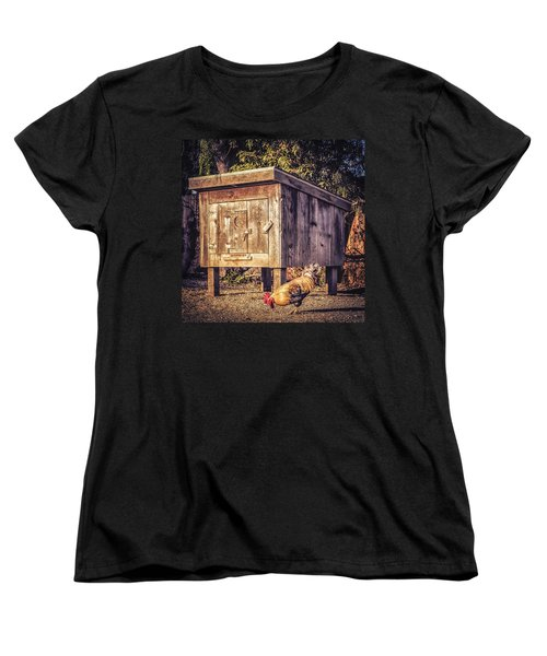 Women's T-Shirt (Standard Cut) featuring the photograph Coop by Caitlyn  Grasso