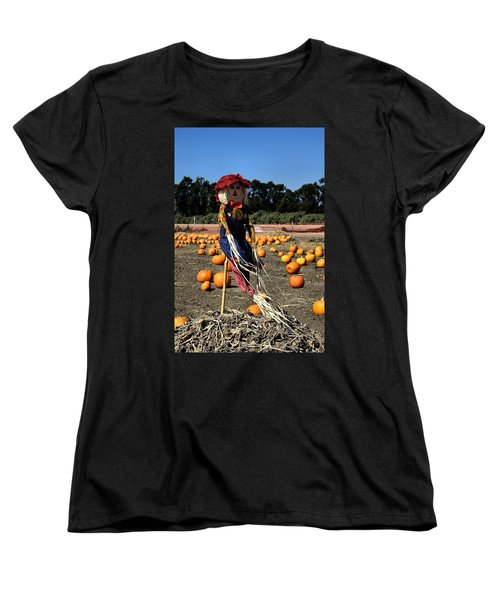 Women's T-Shirt (Standard Cut) featuring the photograph Corn Mom by Michael Gordon