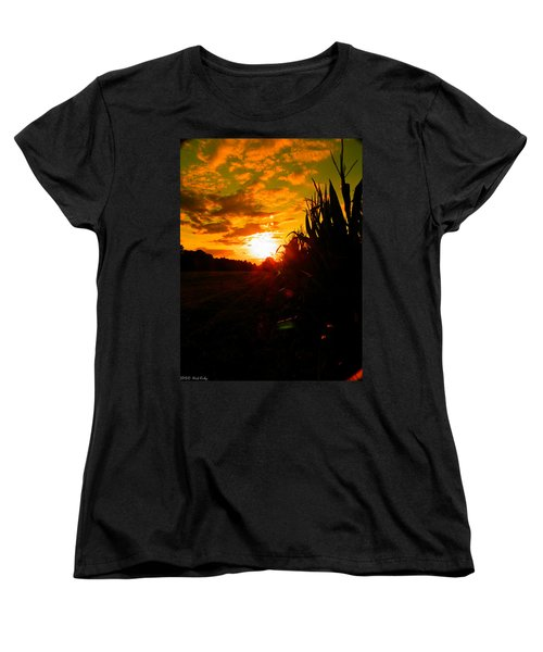 Cornset Women's T-Shirt (Standard Cut) by Nick Kirby