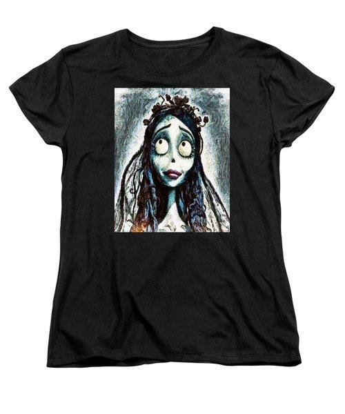 Corpse Bride Women's T-Shirt (Standard Cut) by Joe Misrasi