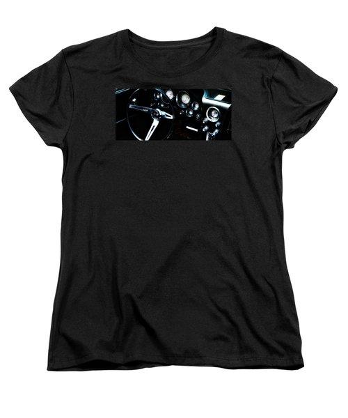 Vintage Women's T-Shirt (Standard Cut) featuring the photograph Corvette Stingray by Aaron Berg