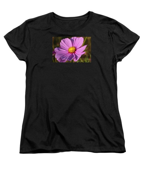 Women's T-Shirt (Standard Cut) featuring the photograph Cosmos Love by Julie Andel