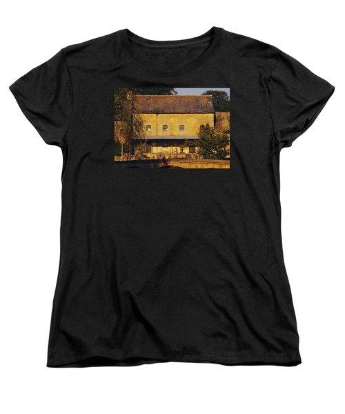 Cotswold Cottage Women's T-Shirt (Standard Cut) by Stuart Litoff
