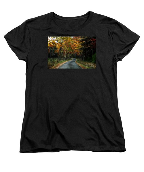 Country Road Women's T-Shirt (Standard Cut)