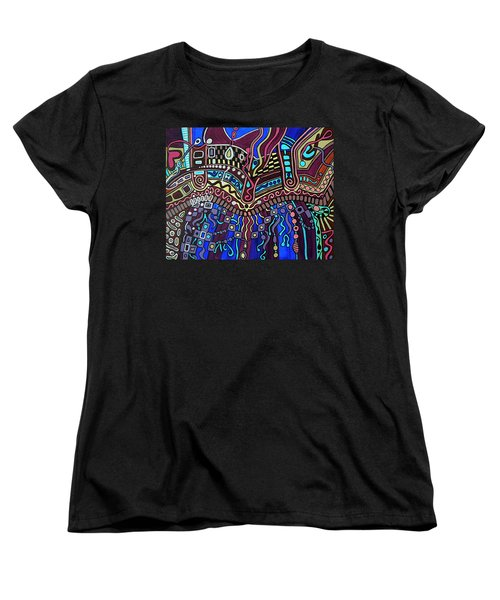 Women's T-Shirt (Standard Cut) featuring the painting Couture by Barbara St Jean