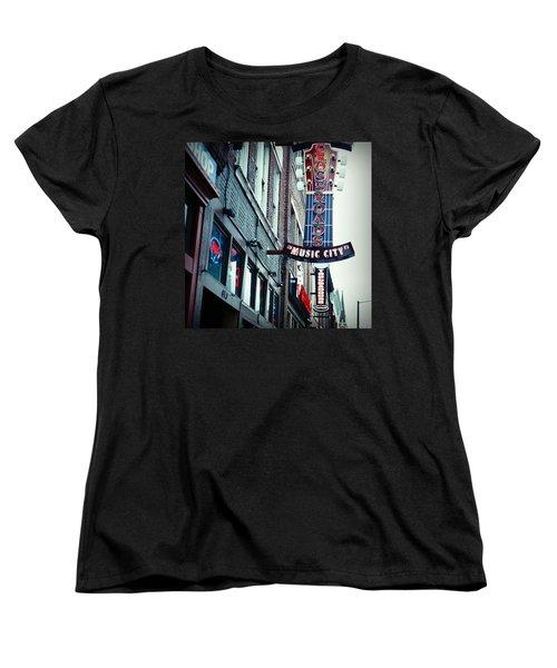 Crossroads Women's T-Shirt (Standard Cut) by Linda Unger