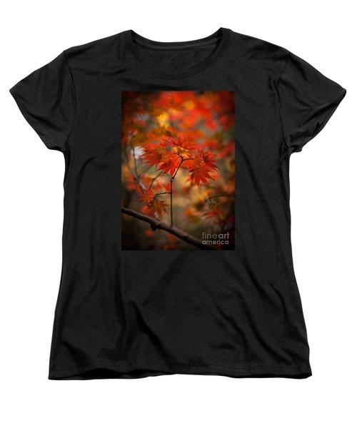 Crown Of Fire Women's T-Shirt (Standard Cut) by Mike Reid