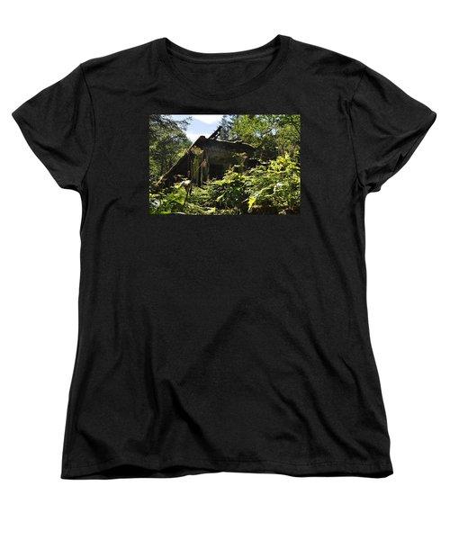 Crumbling Down Women's T-Shirt (Standard Cut)
