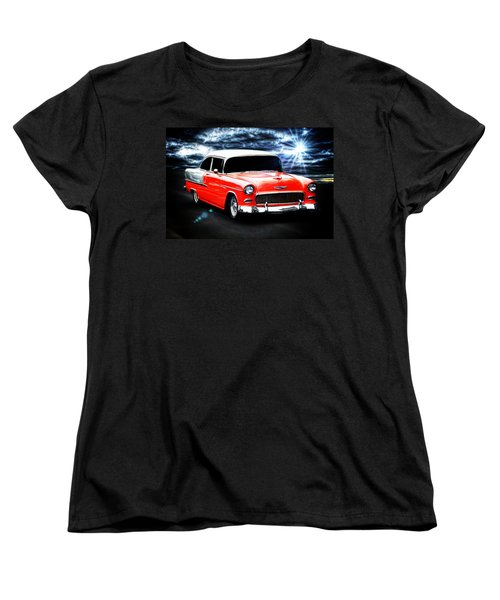 Vintage Car Women's T-Shirt (Standard Cut) featuring the photograph Cruze'n  by Aaron Berg
