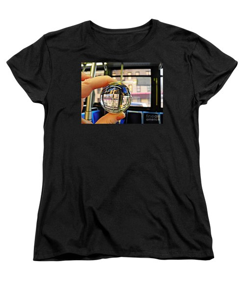 Crystal Ball Project 64 Women's T-Shirt (Standard Cut) by Sarah Loft
