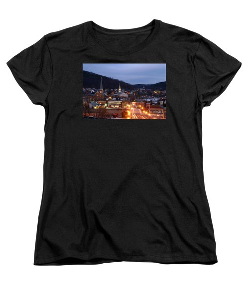 Cumberland At Night Women's T-Shirt (Standard Cut) by Jeannette Hunt