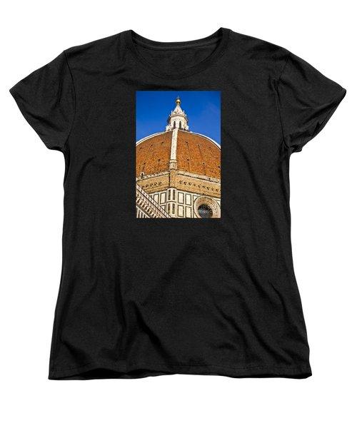 Cupola On Florence Duomo Women's T-Shirt (Standard Cut) by Liz Leyden