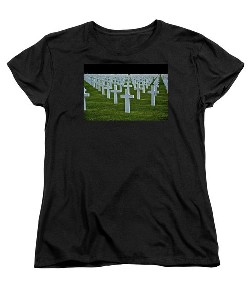 D-day's Price Women's T-Shirt (Standard Cut) by Eric Tressler