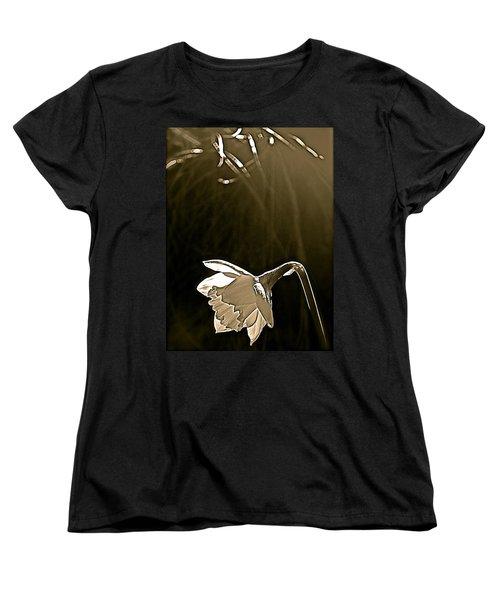 Daffodils 2 Women's T-Shirt (Standard Cut) by Pamela Cooper
