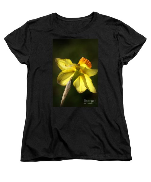 Women's T-Shirt (Standard Cut) featuring the photograph Daffodils Grace by Joy Watson