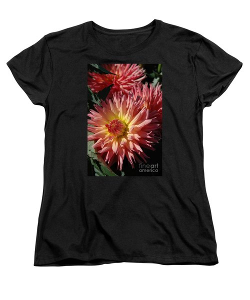 Women's T-Shirt (Standard Cut) featuring the photograph Dahlia Viii by Christiane Hellner-OBrien