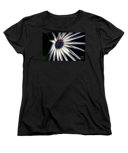 Women's T-Shirt (Standard Cut) featuring the photograph Daisy Heart by Joy Watson