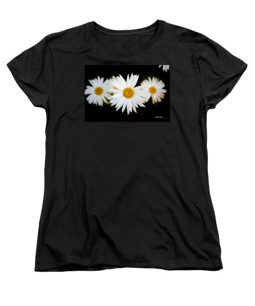 Daisy Trio Women's T-Shirt (Standard Cut) by Charlie Duncan