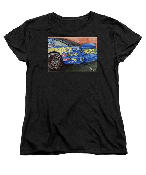 Dale Earnhardt's 1987 Chevrolet Monte Carlo Aerocoupe No. 3 Wrangler  Women's T-Shirt (Standard Cut)
