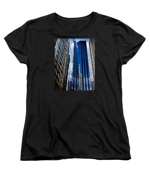 Dallas Reflections Women's T-Shirt (Standard Cut) by Mark Alder