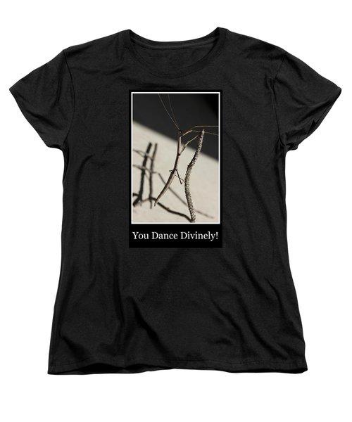 Dance Women's T-Shirt (Standard Cut) by Betty Northcutt