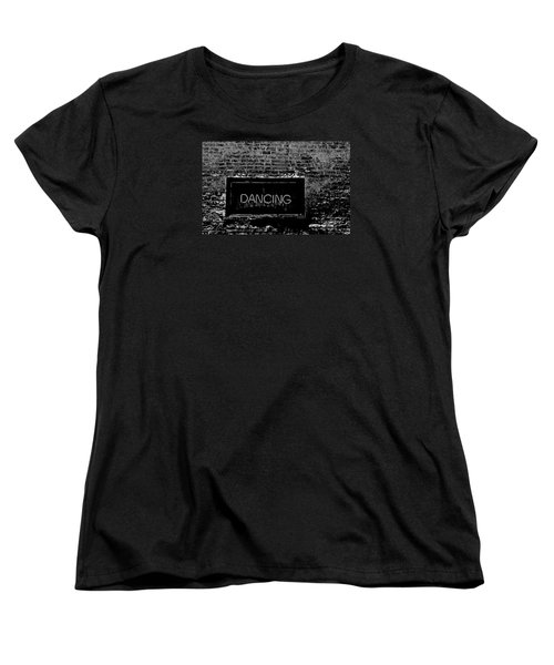 Women's T-Shirt (Standard Cut) featuring the photograph Dancing by Michael Nowotny