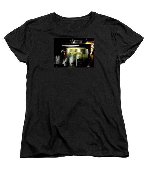 Danger Men Cooking Women's T-Shirt (Standard Cut) by Chris Berry