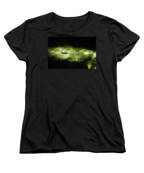 Dark Shadow  Women's T-Shirt (Standard Cut) by Paul Job
