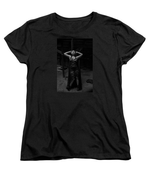 Dark Witch's Yearning Women's T-Shirt (Standard Cut) by Mez