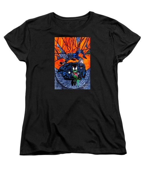 Darkhawk Issue 13 Homage Women's T-Shirt (Standard Cut) by Justin Moore