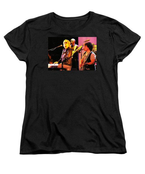 Daryl Hall And Oates In Concert Women's T-Shirt (Standard Cut) by Alice Gipson