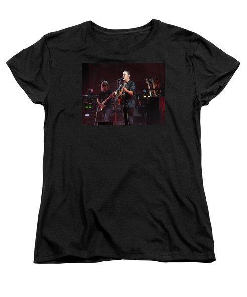 Dave Matthews Live Women's T-Shirt (Standard Cut) by Aaron Martens