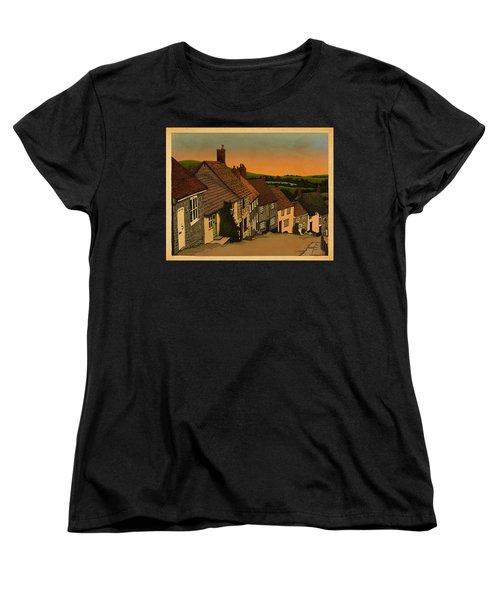 Daybreak Women's T-Shirt (Standard Cut) by Meg Shearer