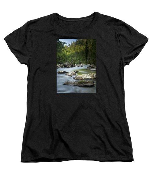 Daybreak In The Valley Women's T-Shirt (Standard Cut)