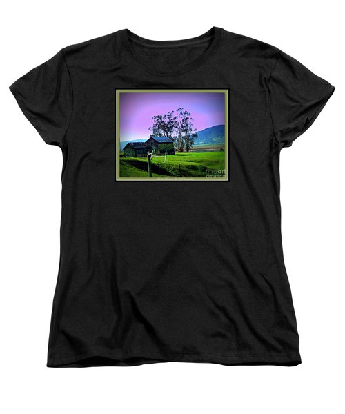 Women's T-Shirt (Standard Cut) featuring the photograph Days Gone By by Bobbee Rickard
