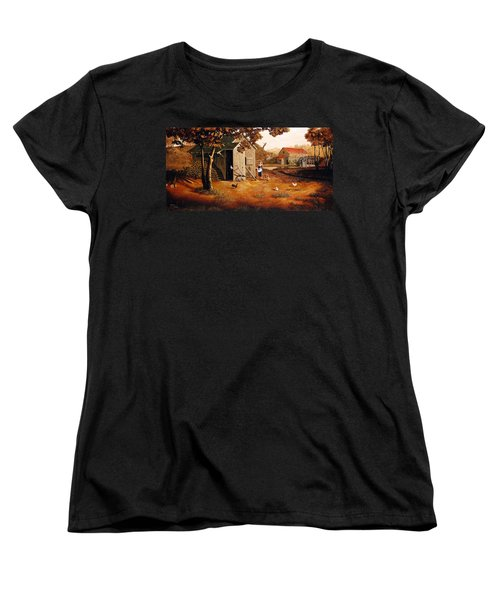 Days Of Discovery Women's T-Shirt (Standard Cut) by Duane R Probus