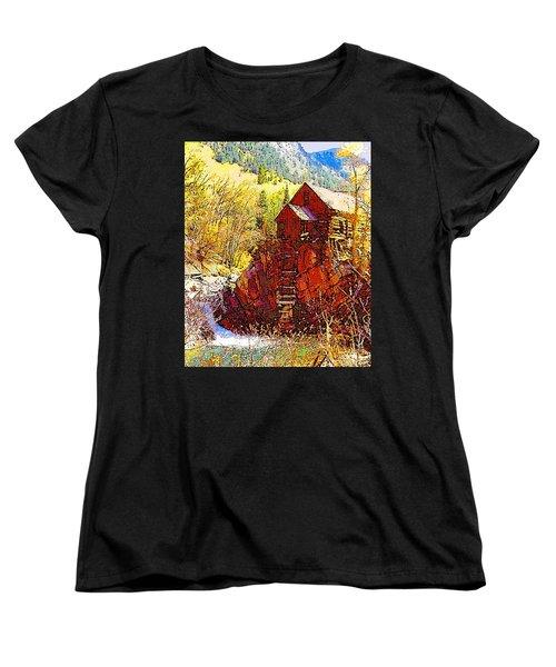 Deadhorse Mill Women's T-Shirt (Standard Cut) by Dan Miller