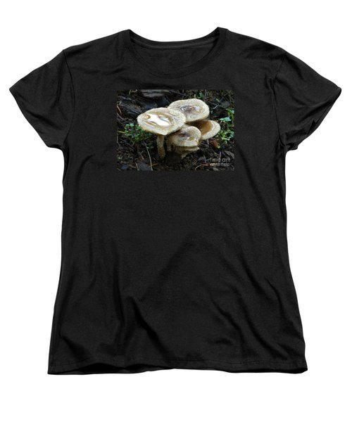 Women's T-Shirt (Standard Cut) featuring the photograph Deadly Beauty 1 by Chalet Roome-Rigdon