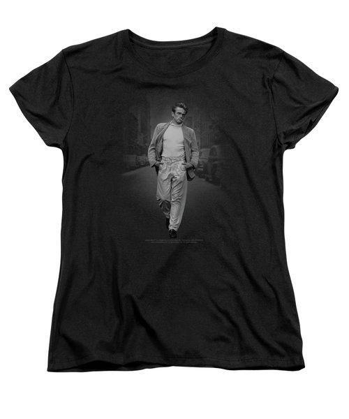 Dean - Out For A Walk Women's T-Shirt (Standard Cut) by Brand A