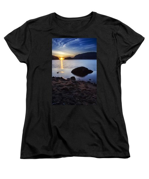 Deception Pass 3 Women's T-Shirt (Standard Cut) by Sonya Lang