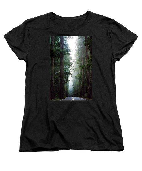 Deep In The Forest Women's T-Shirt (Standard Cut)