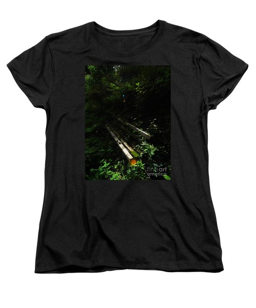 Deep In The Woods Women's T-Shirt (Standard Cut) by Andy Prendy