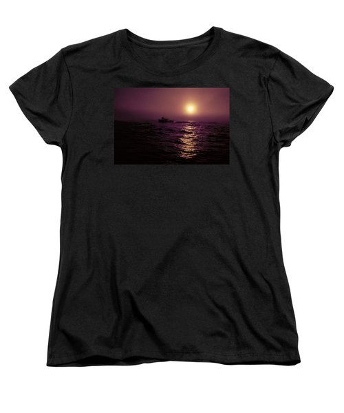 Deep Sea Fishing Off West Port Wa II Women's T-Shirt (Standard Cut) by Greg Reed