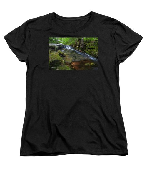 Deer Creek Women's T-Shirt (Standard Cut) by Charlie Duncan