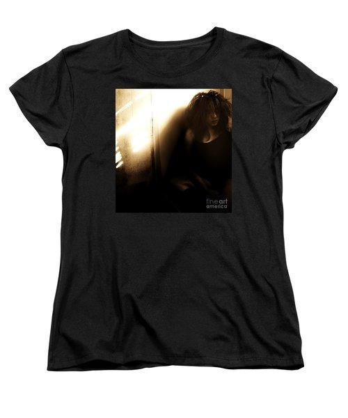 Dejection Women's T-Shirt (Standard Cut) by Jessica Shelton