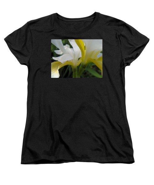 Delicate Iris Women's T-Shirt (Standard Cut) by Cheryl Hoyle