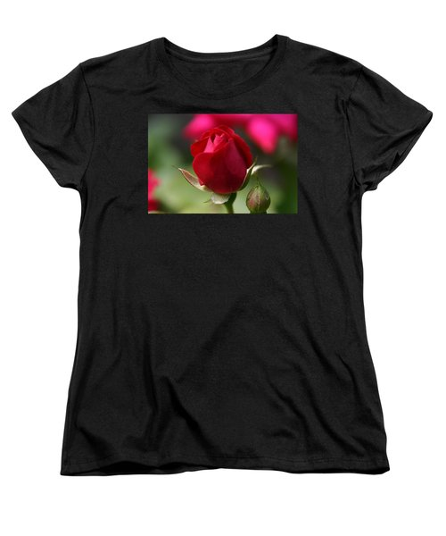 Delicate Opening  Women's T-Shirt (Standard Cut) by Denyse Duhaime