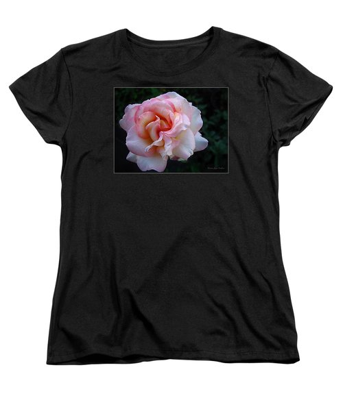 Women's T-Shirt (Standard Cut) featuring the photograph Delicate Pink by Joyce Dickens