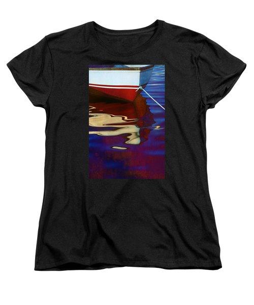 Delphin 2 Women's T-Shirt (Standard Cut) by Laura Fasulo
