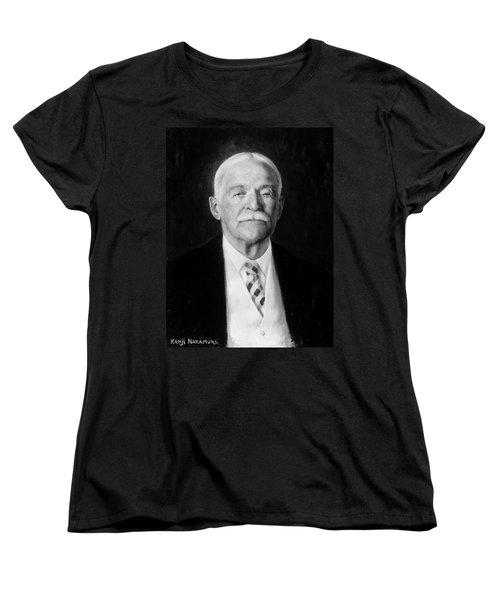 Women's T-Shirt (Standard Cut) featuring the painting Denman Waldo Ross (1853-1935) by Granger